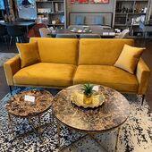 Nauja minkštų baldų kolekcija jau pasiekė ACCANTO baldų saloną Vilniuje P. Lukšio g. 19 🥰 Kviečiame apžiūrėti! 🌻 Nuotraukoje sofa-lova ROLL 217x90cm #accantobaldai #baldai #interjeras #namams #idejosnamams #ikvepimas #sofa #sofalova #modernusbaldai #modernusdizainas #geltona #svetainesbaldai #svetaine #minkstibaldai #vilnius #ogmiosmiestas #dizainas #stilius #jaukumas #jaukusnamai #grazusnamai