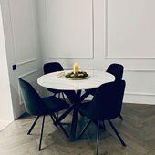 Nuostabus derinys!❤️ Valgomojo stalas - HEAVEN Ir kėdės - ROUND. ✨🥰Dėkojame klientams! @imalicewonderland #accantobaldai #baldai #namai #namams #baldainamams #baldaiinternetu #dizainas #interjeras #stilius #gražu #ispudinga #ikvepimas #idejos #idejosnamams #jaukumas #valgomasis #valgomasisstalas #kėdė #valgomojobaldai #valgomojostalas #valgomojokedes #tuttieduefurniture #nuostabu #jaukusnamai