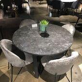 NAUJIENA! Apvalus stalas - AMBLE 🤩🤗 #accantobaldai #baldai #actonacompany #stalas #stalai #baldusalonas #baldaiinternetu #kėdės #valgomasis #valgomojostalas #valgomojobaldai #virtuve #namai #namams #idejosnamams #ikvepimas #marmuroimitacija
