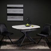 Išskirtinis juodai baltas derinys! 😍#accantobaldai #baldai #baldaiinternetu #interjerodizainas #interjeras #juoda #juodaibalta #balta #dizainas #stilius #namai #namams #idejosnamams #namuidejos #prabanga #grožis #stilius #kėdės #stalai #stalas #valgomasis #valgomasisstalas #valgomojostalas #virtuvė #baldutendencijos #valgomojobaldai #baltaspalva #juodaspalva #maistas #virtuvesbaldai