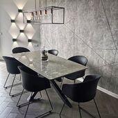 Dar viena įspūdinga mūsų stalo ARTISTICO nuotrauka😍Dėkojame klientams! #accantobaldai #baldai #interjerodizainas #interjeras #stalas #valgomasisstalas #valgomojobaldai #valgomasis #tuttieduefurniture #ispudingasinterjeras #stilius #dizainas #pilkaspalva #grazu #stilinga #prabanga #ikvepimas #idejos #idejosnamams #namai #namams